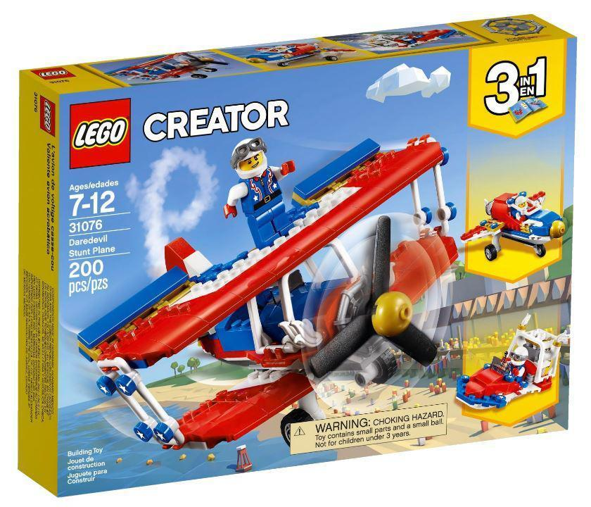 31076 Lego Creator Самолёт для крутых трюков, Лего Креатор