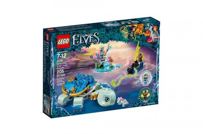 41191 Lego Elves Засада Наиды и водяной черепахи, Лего Эльфы