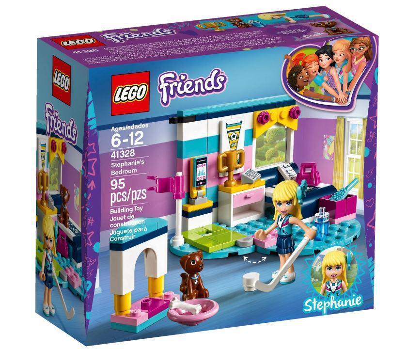41328 Lego Friends Комната Стефани, Лего Подружки