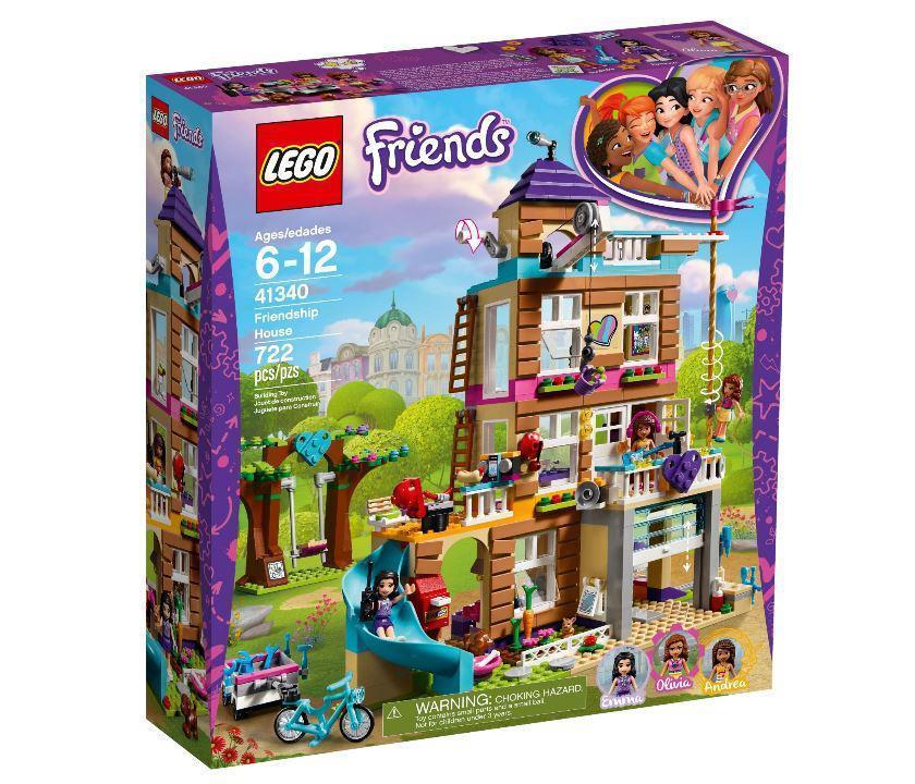 41340 Lego Friends Дом дружбы, Лего Подружки
