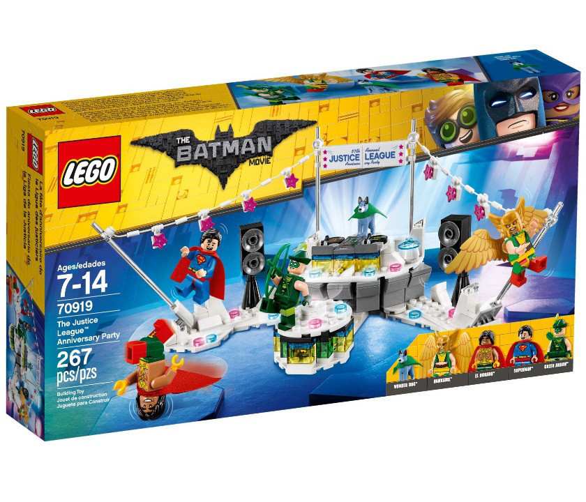 70919 Lego Лего Фильм: Бэтмен Вечеринка Лиги Справедливости, The Lego Batman Movie