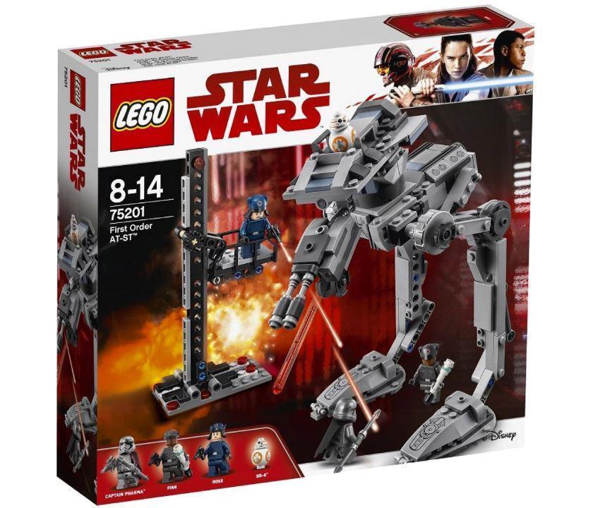 75201 Lego Star Wars Вездеход AT-ST Первого Ордена, Лего Звездные войны