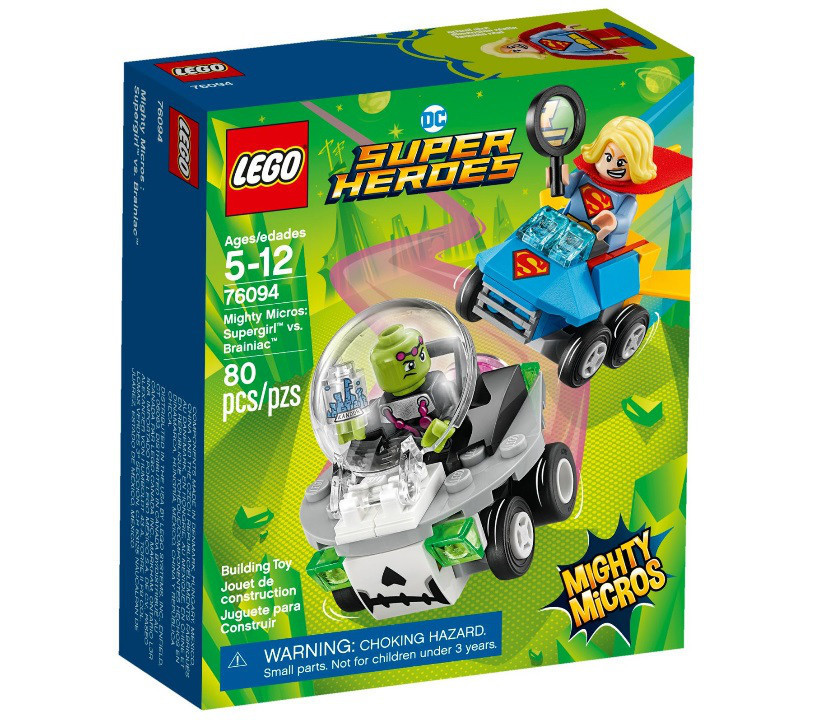 76094 Lego Super Heroes Mighty Micros: Супергёрл против Брейниака, Лего Супер Герои DC