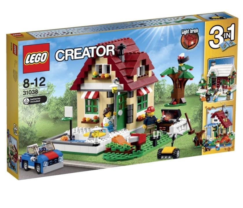 31038 Lego Creator Времена года, Лего Креатор