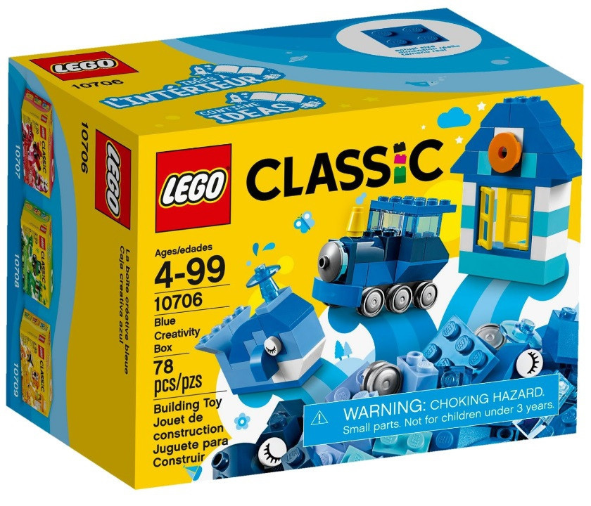10706 Lego Classic Синий набор для творчества, Лего Классик