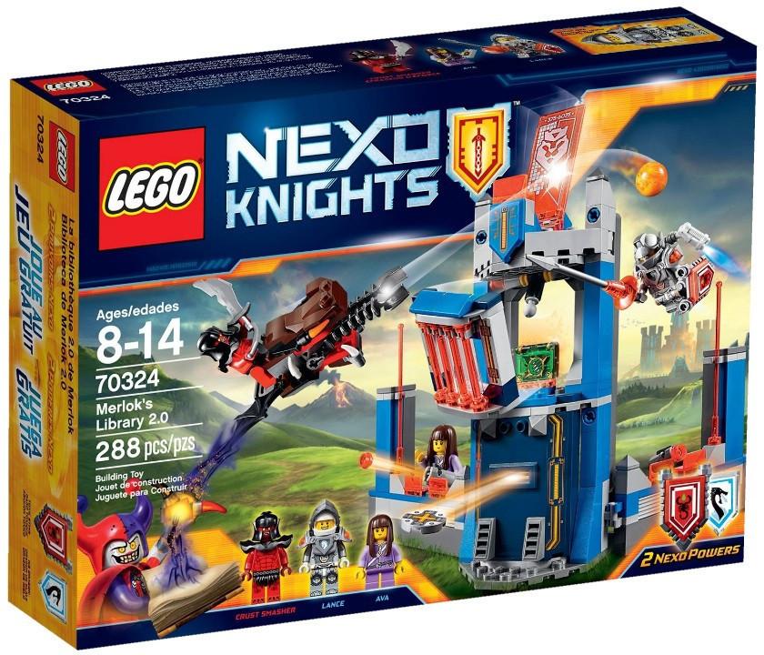70324 Lego Nexo Knights Библиотека Мерлока 2.0, Лего Рыцари Нексо