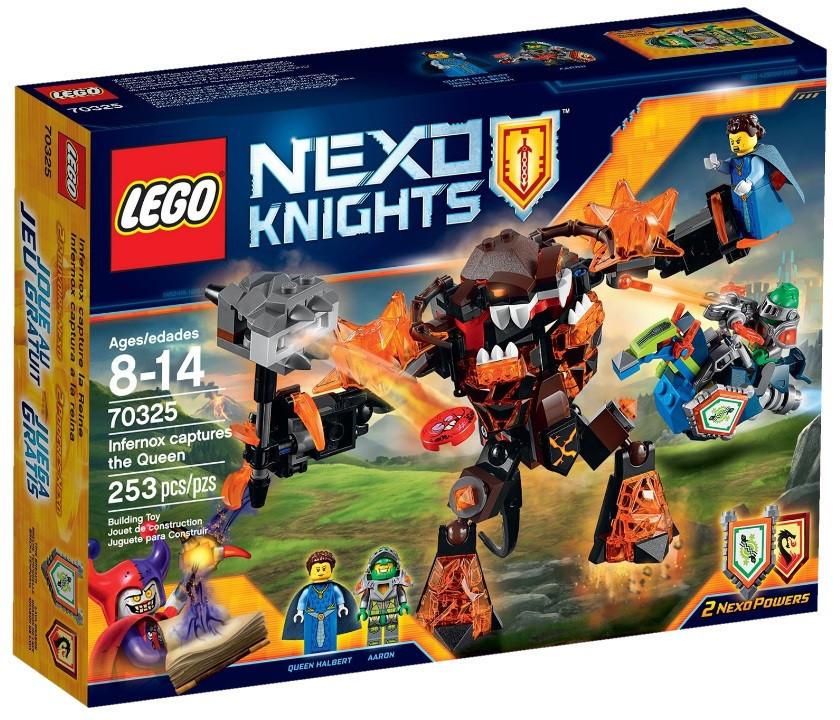 70325 Lego Nexo Knights Инфернокс и захват королевы, Лего Рыцари Нексо