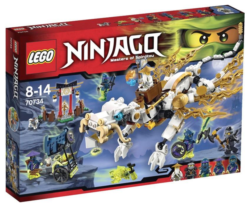70734 Lego Ninjago Дракон Сэнсэя Ву, Лего Ниндзяго