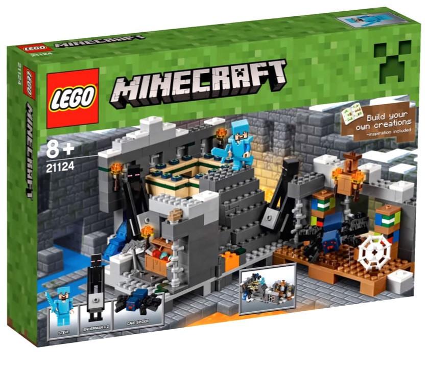21124 Lego Minecraft Портал в Край, Лего Майнкрафт