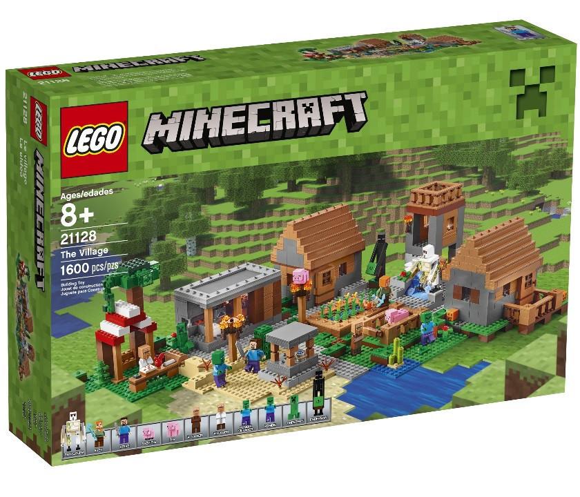 21128 Lego Minecraft Деревня, Лего Майнкрафт