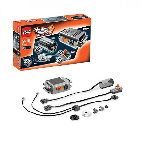 8293 Lego Technic Мотор Power Functions, Лего Техник