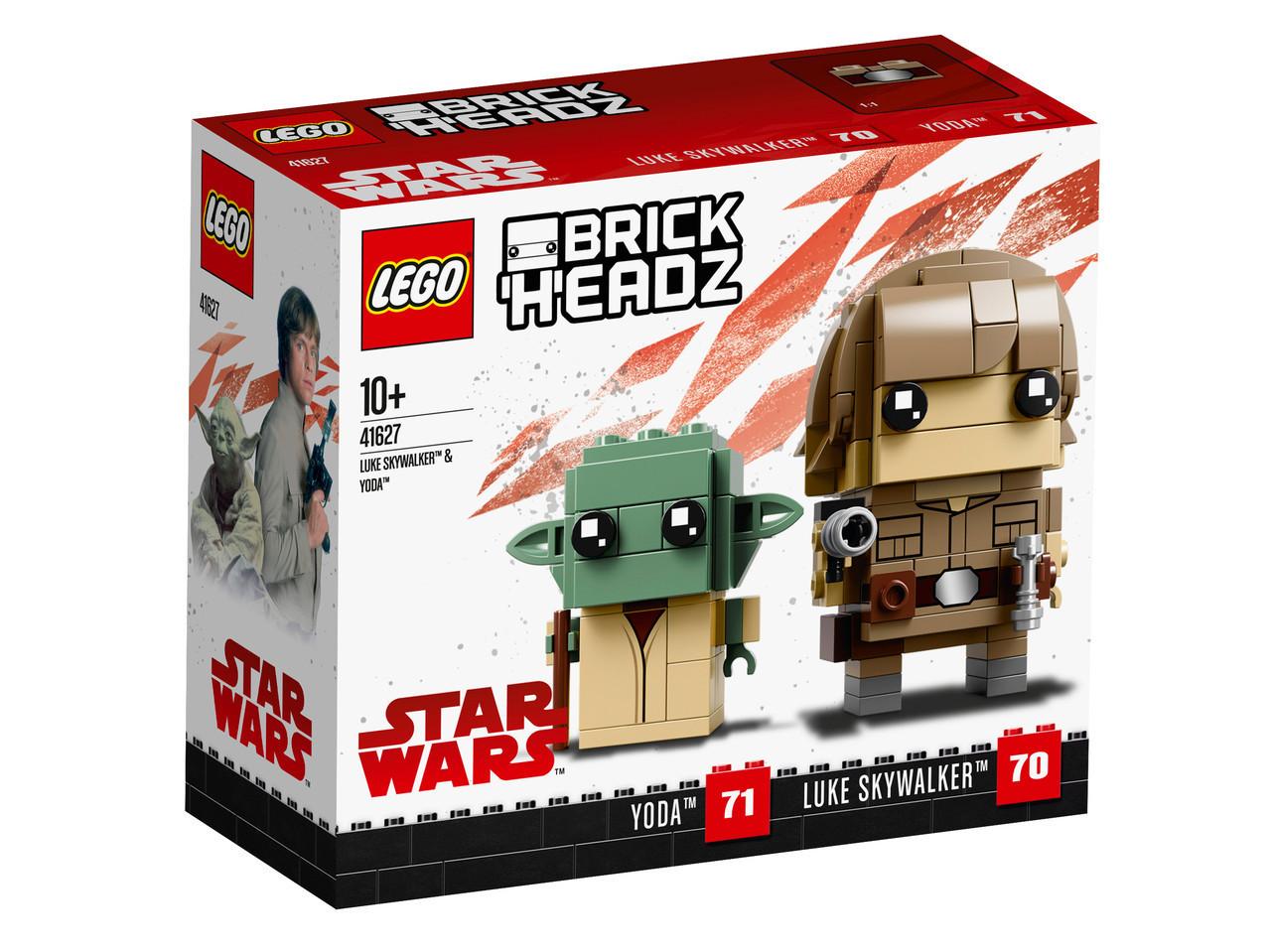41627 Lego BrickHeadz Люк и Йода , Лего БрикХедз
