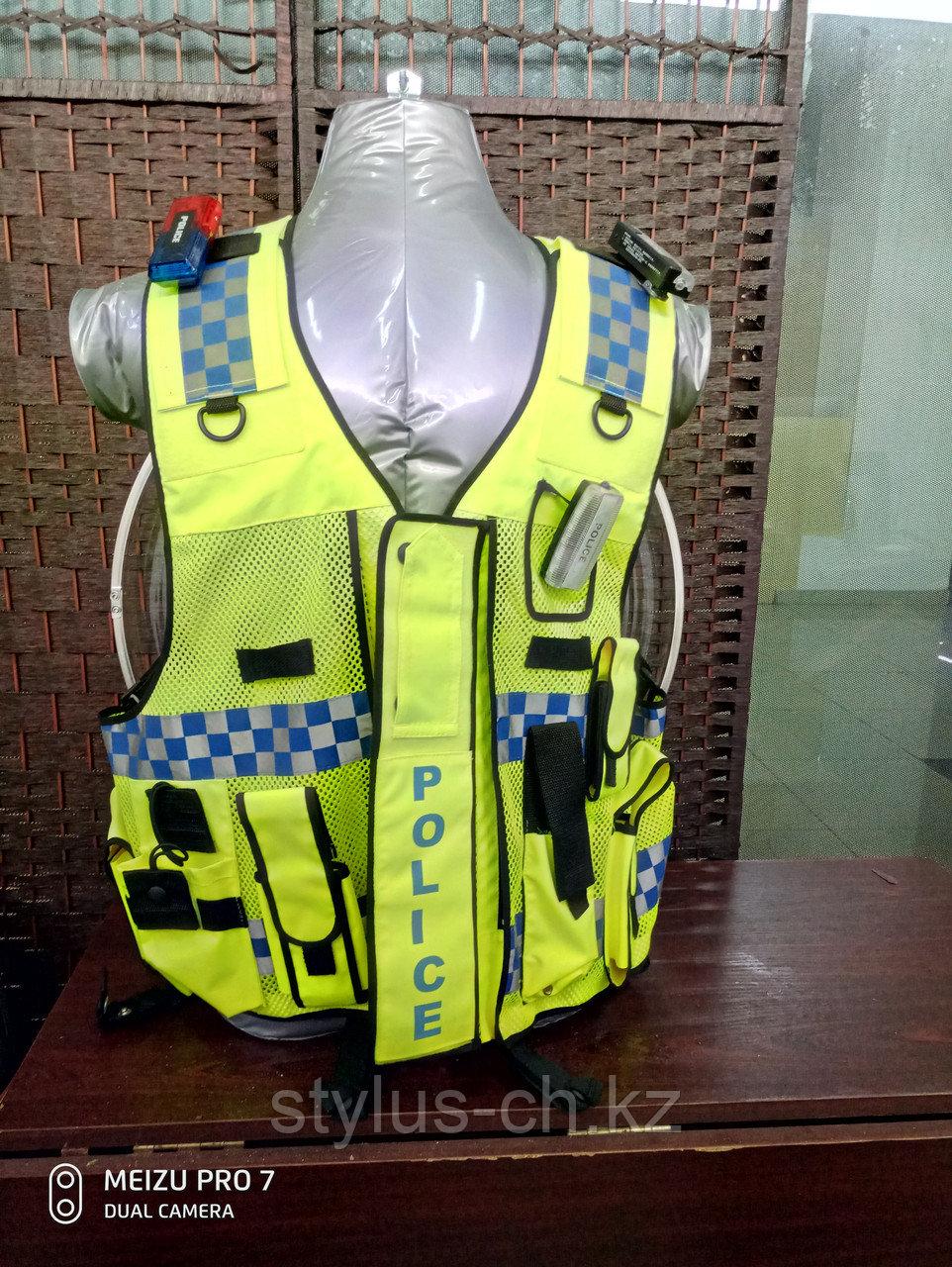 Светоотражающий жилет для правоохранительных органов