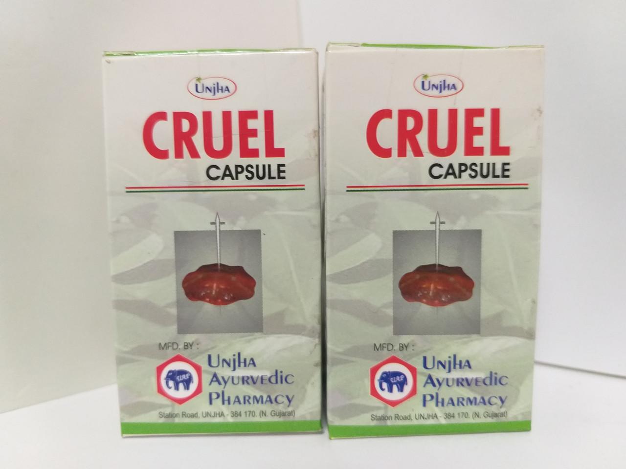 Круэль, Cruel, Unjha, 15 капс.