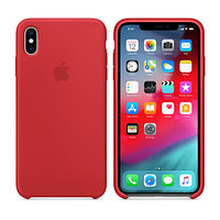 Apple iPhone XS Max, Silicone Case - Red прочее (MRWH2ZM/A)