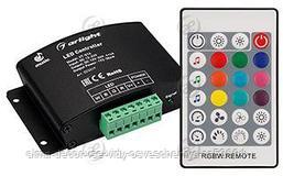 Аудиоконтроллер VT-S14-4x4A (12-24V, ПДУ Карта 24кн, RF)