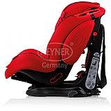 Автокресло Heyner Capsula MultiFix ERGO 3D-SP (I,II,III)  Racing Red С креплением IsoFix, фото 3