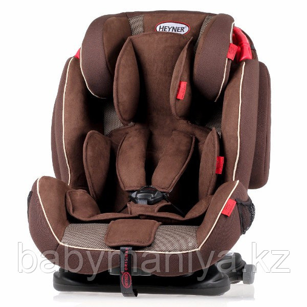 Автокресло Heyner Capsula MultiFix ERGO 3D-SP (I,II,III)  Cookie Brown С креплением IsoFix