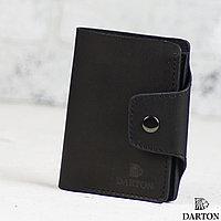 Мужское стильное кожаное портмоне McKinley Black Onyx
