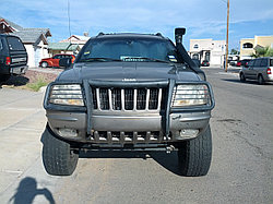 Jeep Grand Cherokee WJ 1999-2005 г шноркель- T4