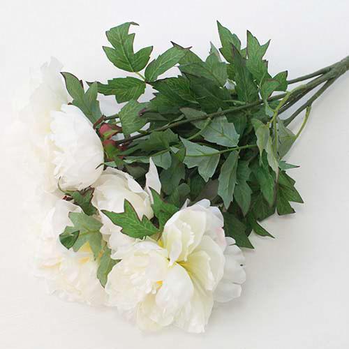 """Искусственный букет """"Пион"""" 5 цветков (15см * 50см)"""