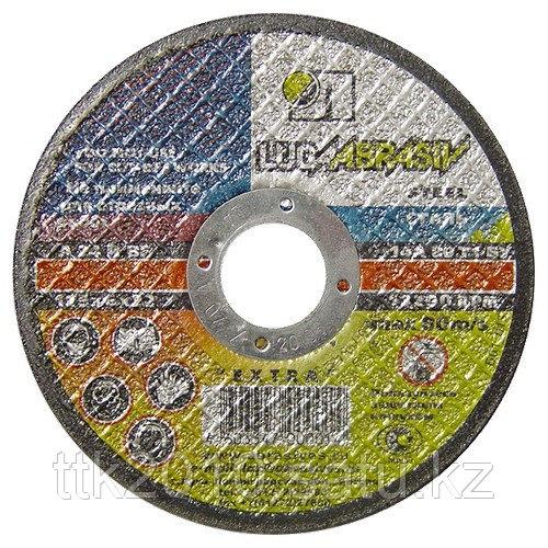 Круг шлифовальный по металлу, 115х6х2,2 мм