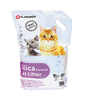 Karlie-Flamingo Наполнитель силикагелевый Silica Premium  для кошачьего туалета 10л.