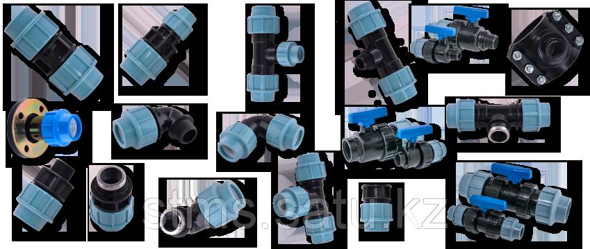 Отвод ПЭ 90° SDR11 ДУ75