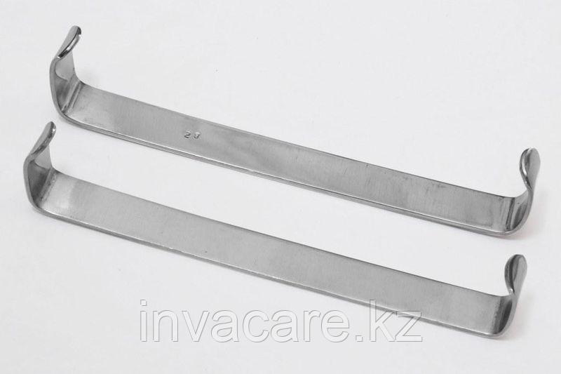 Крючок пластинчатый по Фарабефу, парные, 130 мм.