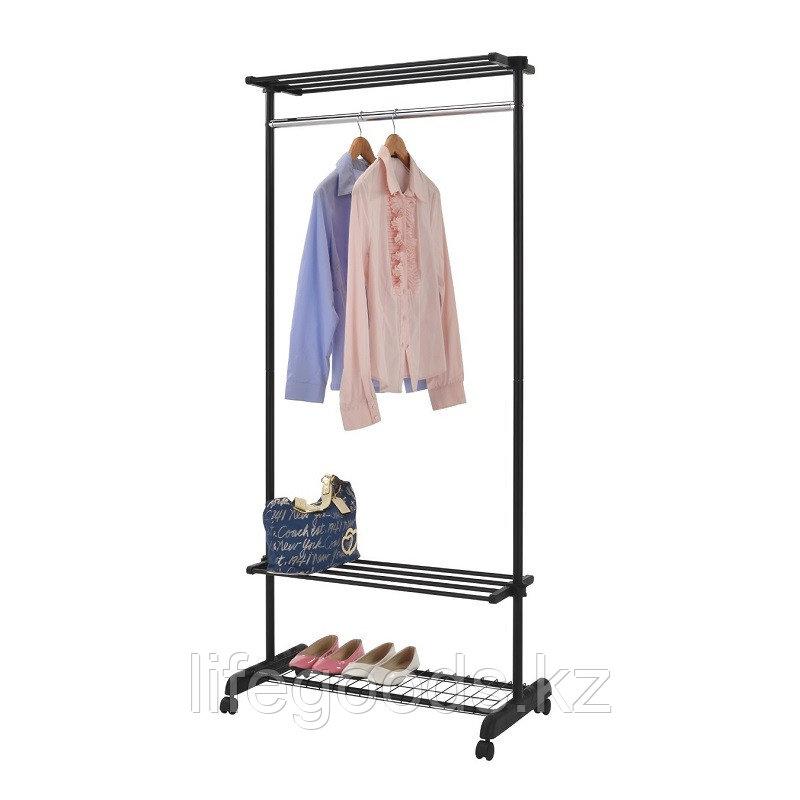 Вешалка гардеробная с полками для обуви, сумок и головных уборов, GC 5124