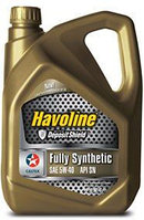 Масло моторное Caltex HAVOLINE,  FULLY SINTHETIC MULTIGRADE, SAE 5W-40