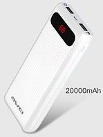 Powerbank Awei P70K 20000 mAh красный, фото 1