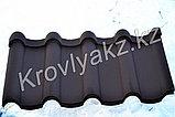 "Металлочерепица Андалузия KZ (""неомат 8017""), фото 2"