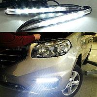 Туманки LED DRL на Renault Koleos 2012