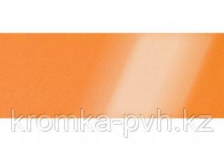 Оранжевый глянец ПВХ кромка