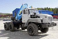 Седельный тягач УРАЛ-4320 с КМУ ИМ-150, фото 1