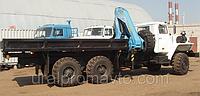 Бортовой автомобиль УРАЛ-4320 с КМУ ИМ-150 за кабиной, фото 1