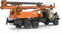 Машина шнекового бурения МБШ-818 УРАЛ-4320