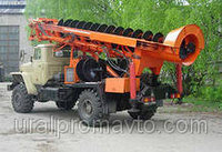 Машина бурильная МРК-800 УРАЛ-43206, фото 1