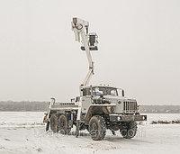 Рычажно-телескопический автогидроподъемник АГП-29РТ УРАЛ-4320, фото 1
