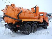 Автоцистерна илососная АКНС-10 КАМАЗ-65115