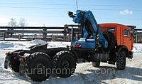 Седельный тягач с КМУ ИМ-180 КАМАЗ 43118
