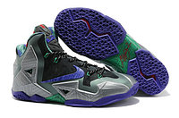 Кроссовки Nike LeBron XI (11) Blue Black Purple Elite 2014 (40-46), фото 1