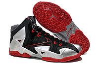 Кроссовки Nike LeBron XI (11) Black Red Elite 2014 (40-46), фото 1