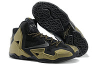 Кроссовки Nike LeBron XI (11) Black Gold Elite 2014 (40-46), фото 1