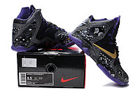 Кроссовки Nike LeBron XI (11) Gold/Purple/Black/White (40-46), фото 5