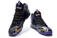 Кроссовки Nike LeBron XI (11) Gold/Purple/Black/White (40-46), фото 2