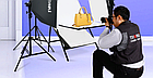 Софтбокс (комплект 3 шт.+фотостол), фото 3