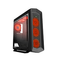 Корпус для компьютеров Gamemax Asgard Black ATX  ECO (G516)-RED ATX