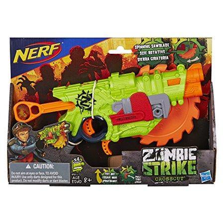 Нёрф зомби страйк Nerf Zombie Strike Crosscut Blaster зомби страйк